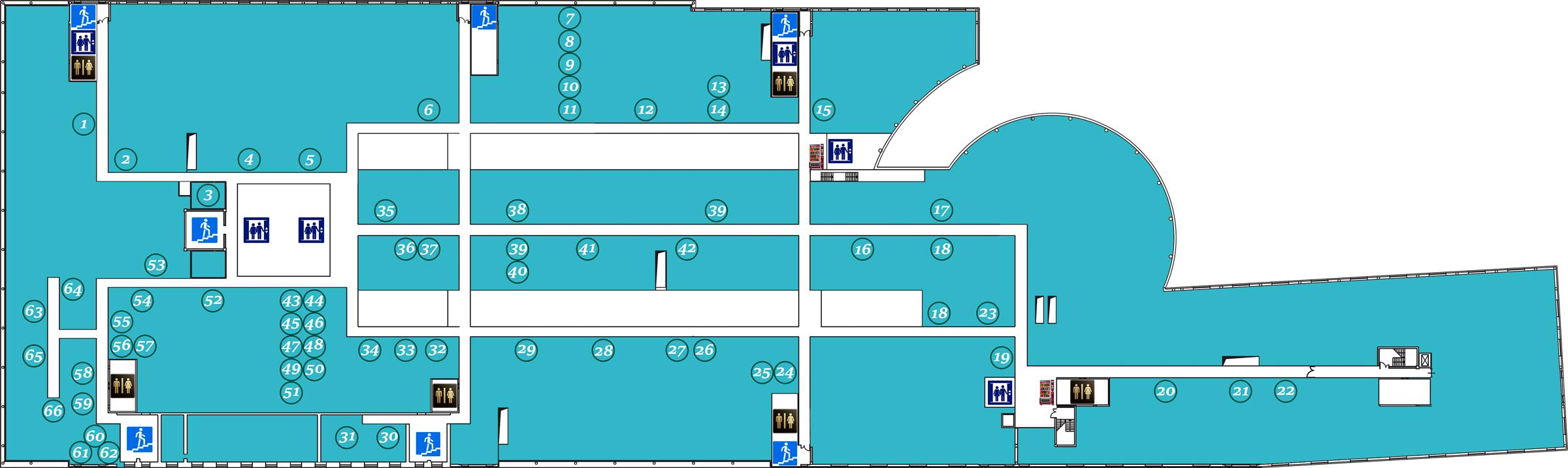 План арендаторов 4-го этада Б.Ц. Омега Плаза